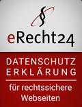 erecht24 siegel datenschutz rot Kopie - Datenschutz