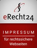 erecht24 siegel impressum rot Kopie - Impressum